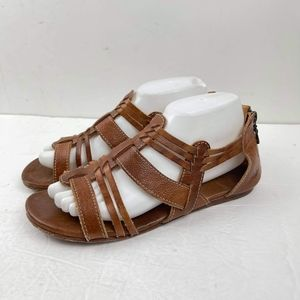 BED STÜ Cara Women's Leather Sandal Distressed US9